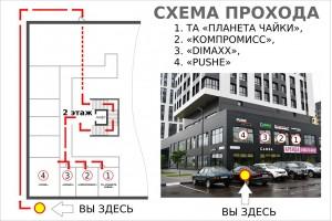 Схема прохода